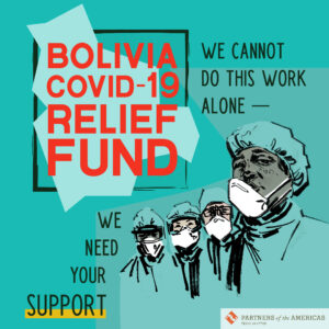 Texas-Bolivia COVID-19 Relief Fund graphic